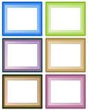 6个框架 库存照片