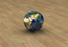6个概念地球 免版税图库摄影