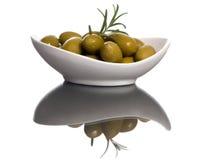 6个橄榄 免版税库存图片