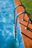 6个池游泳 免版税库存图片