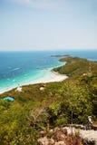 6个海岛ko lan pattaya 库存图片