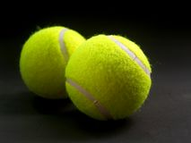 6个球网球 库存图片