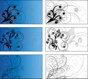 6个背景设计 免版税图库摄影