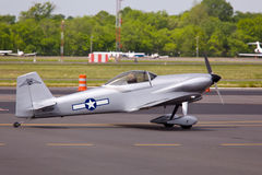 6个航空器跑道德克萨斯人 免版税库存图片