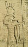 6个艺术埃及人 库存照片