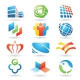 6个设计要素向量 免版税库存照片