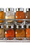 6个香料 免版税库存图片