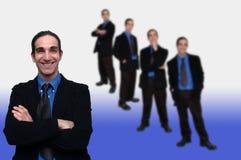 6企业小组 库存照片