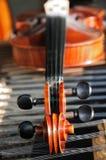 6台仪器音乐会 免版税库存图片