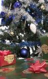 6圣诞树 库存照片