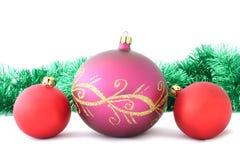 6圣诞节装饰 图库摄影