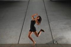 6地下舞蹈 免版税库存照片