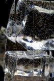 6块玻璃零件 库存图片