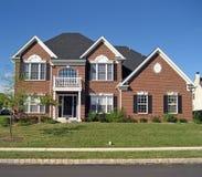 6家庭郊区高级 免版税库存照片