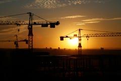 6建筑工地 库存图片