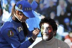 6意大利国家rbs支持者 免版税库存照片