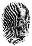 6指纹 免版税库存照片