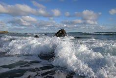 6朵云彩海浪 免版税库存图片