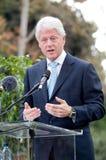6比尔・克林顿 库存照片