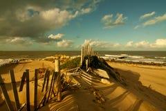 6海滩 免版税库存照片