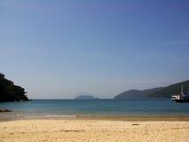 6海滩 库存照片