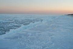 6片沙漠冰 免版税库存图片