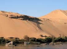 6片沙漠埃及人 免版税库存照片