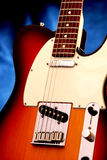 6电吉他 免版税库存图片