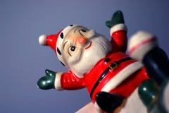 6疯子圣诞老人 免版税图库摄影
