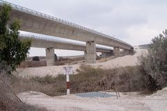 6编译的高速公路 库存照片