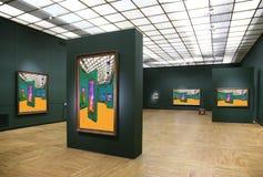6美术画廊 库存图片