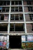 6被放弃的工厂packard 免版税库存照片
