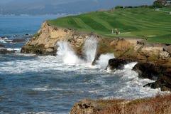 6高尔夫球海运 库存图片