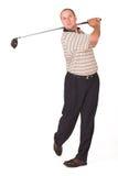 6高尔夫球运动员 库存照片