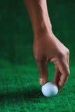 6高尔夫球 免版税图库摄影