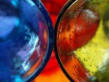 6 αντανακλάσεις γυαλιού φυσαλίδων στοκ εικόνες