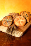 6 δημητριακά ψωμιού Στοκ φωτογραφία με δικαίωμα ελεύθερης χρήσης