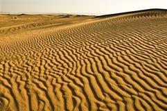 6 κυματισμένη άμμος Στοκ Φωτογραφίες