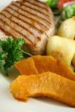6 λαχανικά μπριζόλας Στοκ Φωτογραφία