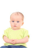 6 μήνες κοριτσακιών Στοκ Εικόνες