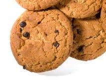 6 μπισκότα σοκολάτας τσιπ στοκ εικόνα
