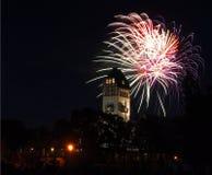 6 πυροτεχνήματα Στοκ εικόνα με δικαίωμα ελεύθερης χρήσης