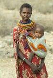 6 африканских людей стоковые фотографии rf