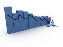 6 коммерческих статистик Стоковое Изображение RF