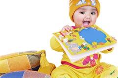 6 месяцев 8 младенцев Стоковая Фотография RF