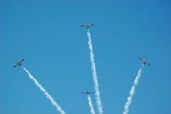 6 над небом стоковая фотография rf