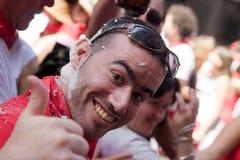 6-ое июля pamplona Испания Стоковая Фотография
