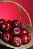6 серий яблок стоковое изображение