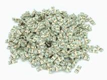 6 000 000 dollari Immagini Stock