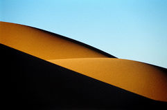 6 12片沙漠沙丘 库存图片